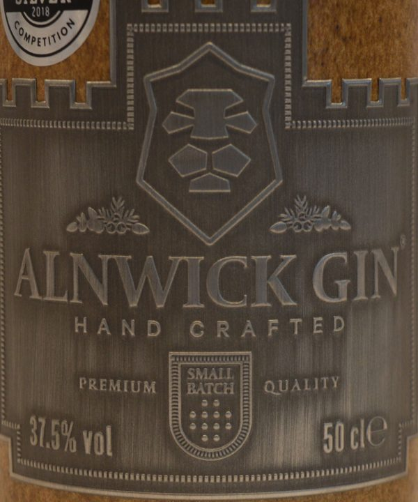 alnwick-gin-label